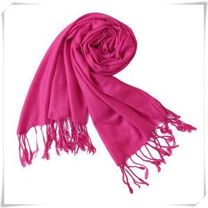 Pashmina scarf shawl in rose red NWOT